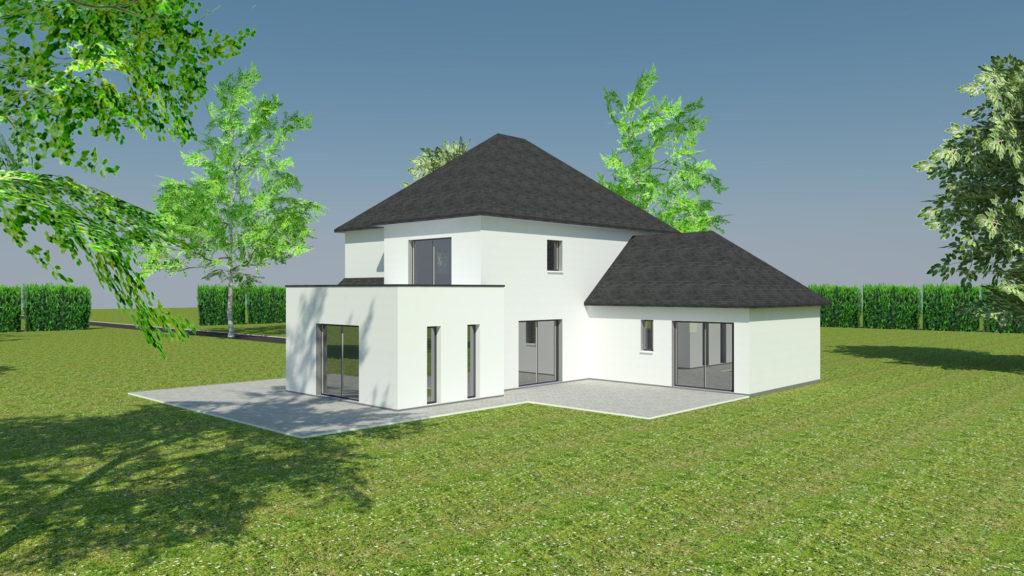 Construction de maison contemporaine à Canteleu (avant projet)