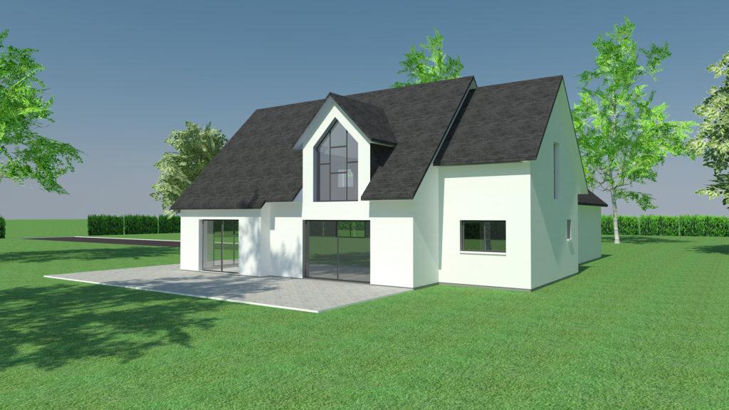 Construction de maison contemporaine à Rouen (avant projet)