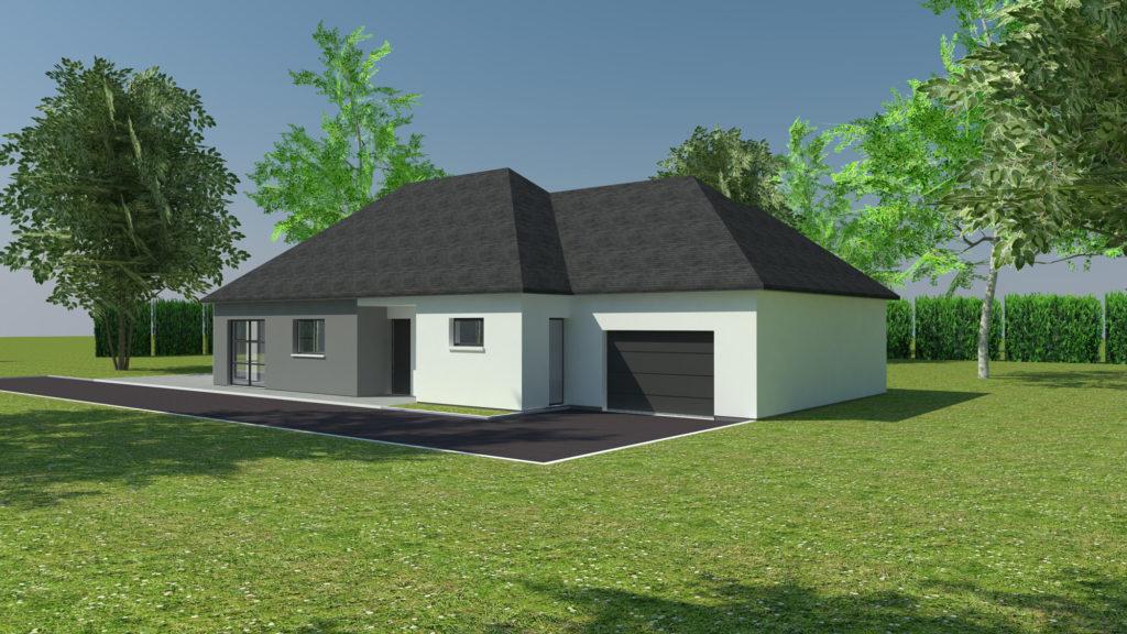 Construction maison plain-pied Bonsecours (avant projet)