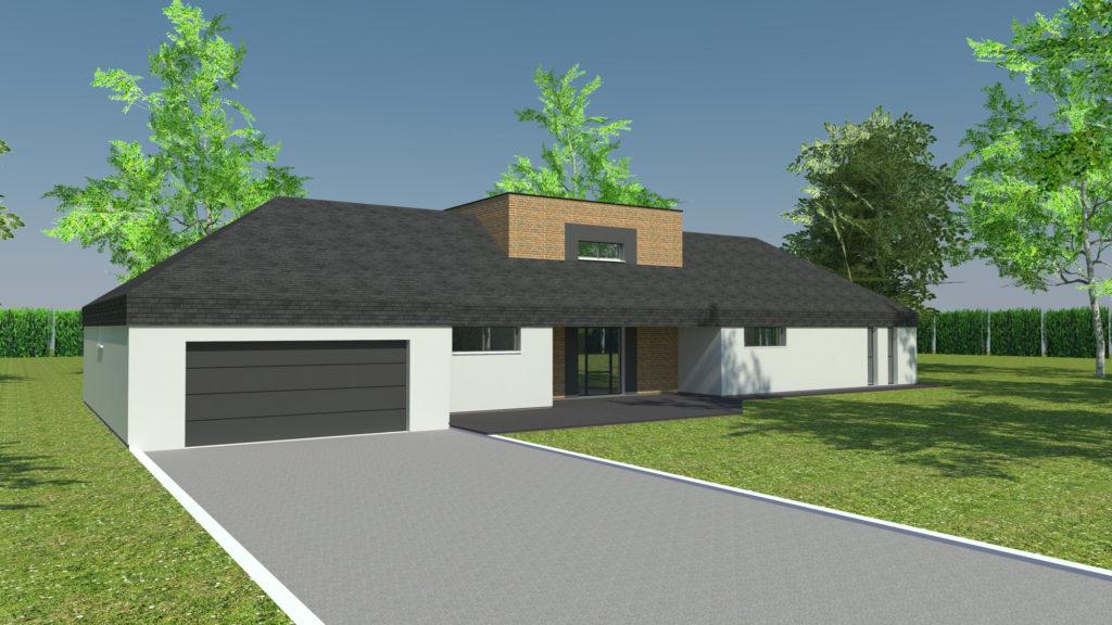 Construction maison plain-pied à Quincampoix