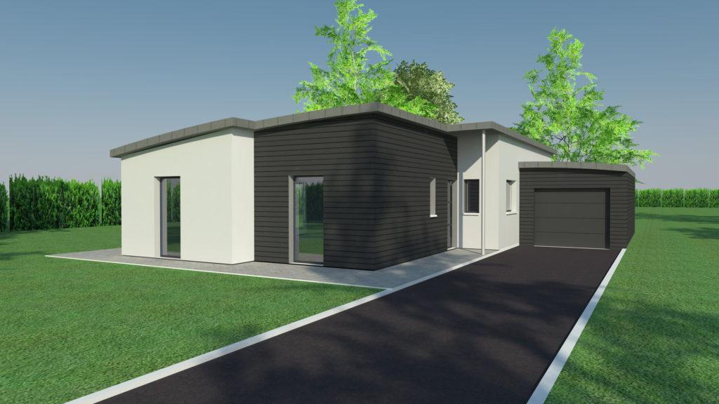 Construction maison plain pied à Isneauville