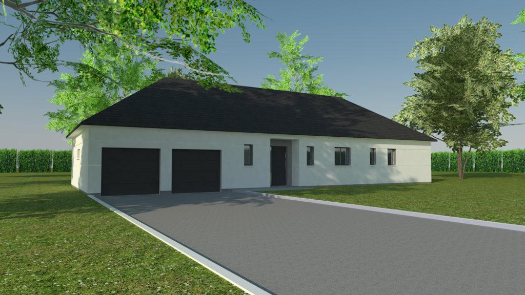 Construction maison plain pied à Totes