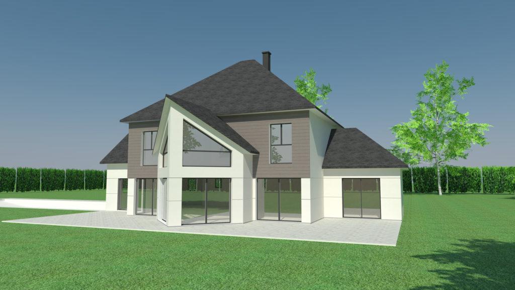 Construction maison prestige à Thuit-Signol (Architecte IGA)
