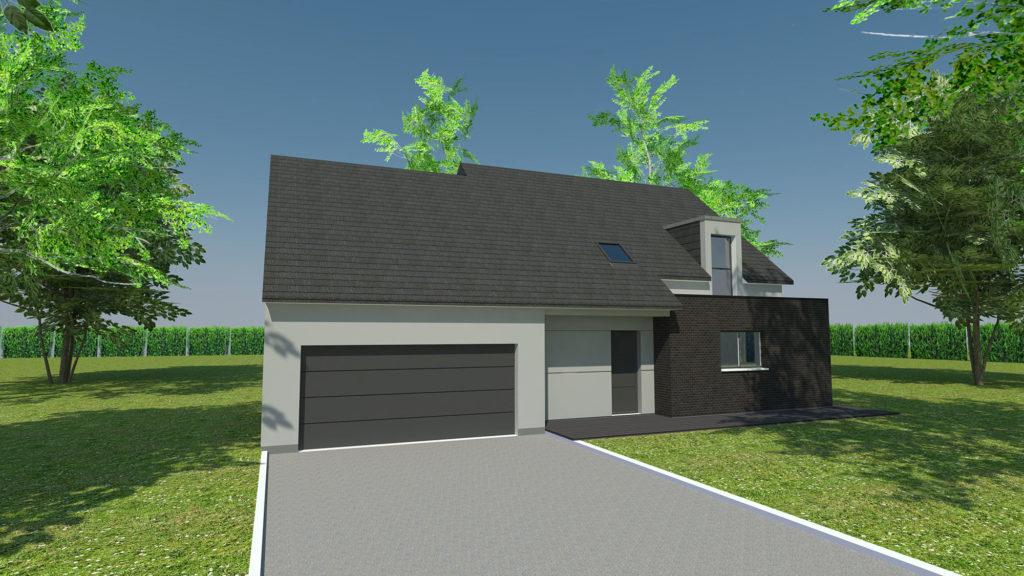 Construction maison à Saint-George-sur-Fontaine
